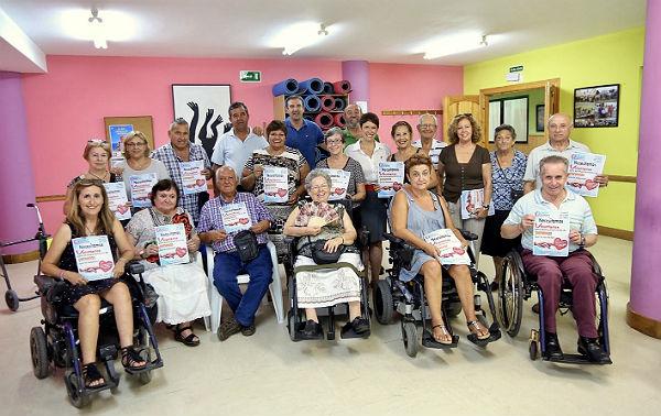 Alicia Laddaga y Ana Scherman acuden a la presentación de la 'Agrupación Voluntarios Benalmádena' en el Centro de Mayores 'Anica Torres'