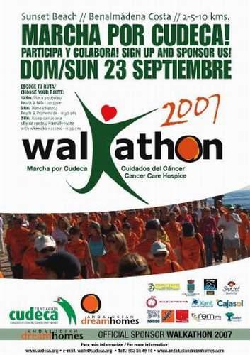 WALKATHON 2007, MARCHA POR CUDECA