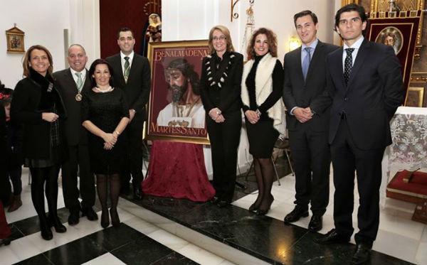 El benalmadense Tomás Zaragoza ofrece un emotivo pregón en la XIX Exaltación del Martes Santo.
