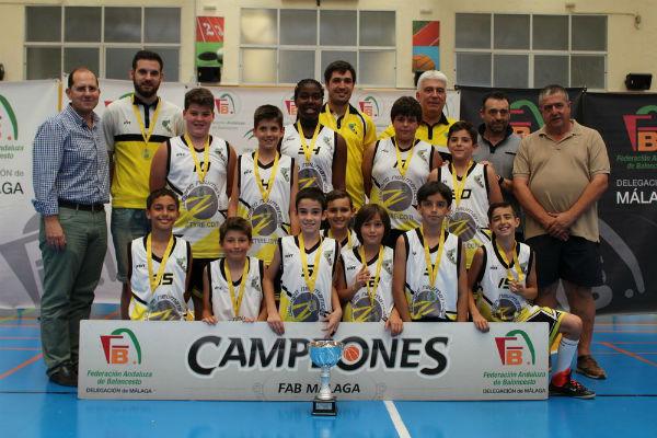 CB Benalmádena´05 se proclama campeón de la categoría Minibasket Masculino de primer año
