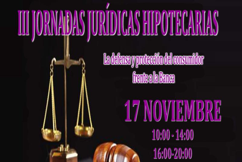 III JORNADAS JURÍDICAS HIPOTECARIAS 2018