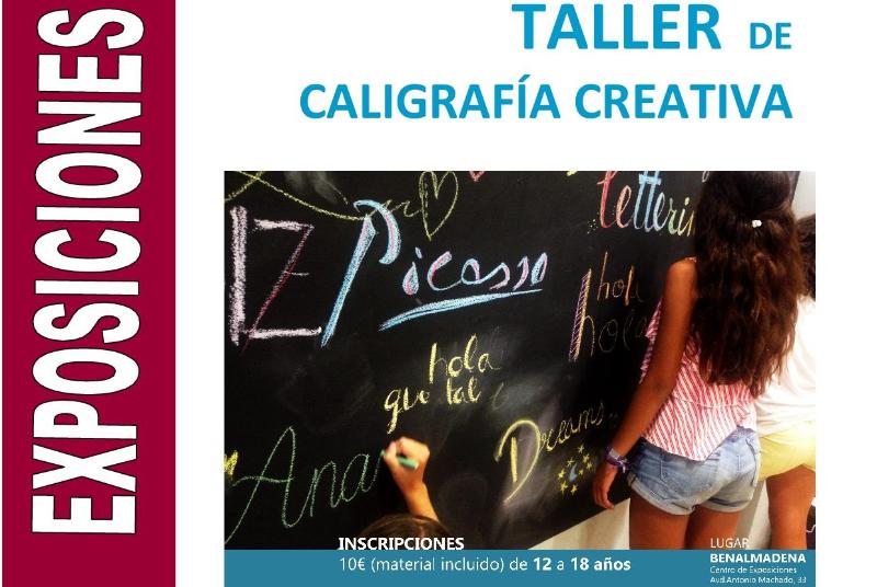 TALLER - LETTERING. CURSO DE CALIGRAFÍA CREATIVA