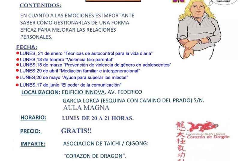 CHARLAS SOBRE PSICOLOGÍA Y MEDIACIÓN INTERGENERACIONAL