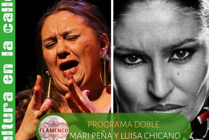 FLAMENCO: MARI PEÑA Y SU GRUPO / LUISA CHICANO Y SU GRUPO