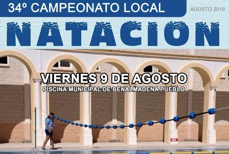 34º CAMPEONATO LOCAL DE NATACIÓN