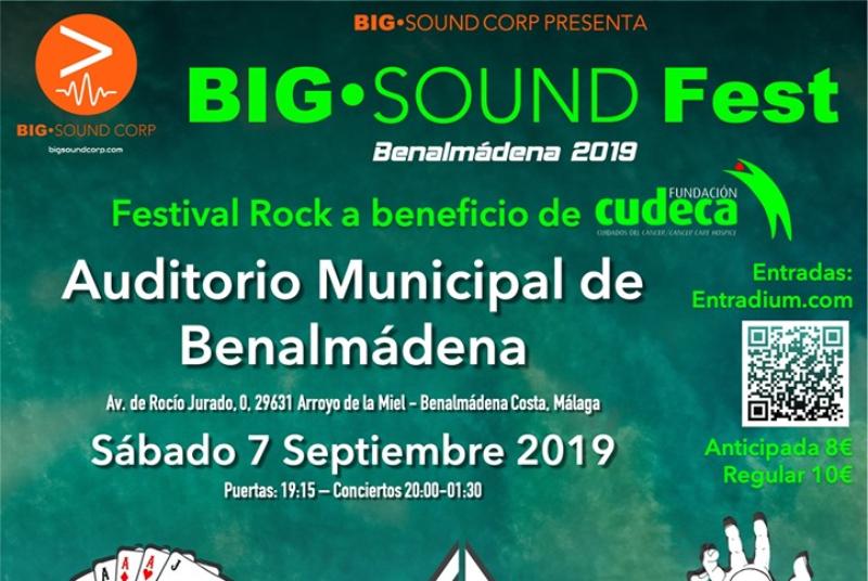 FESTIVAL SOLIDARIO POR CUDECA 'BIG SOUND FEST 2019'