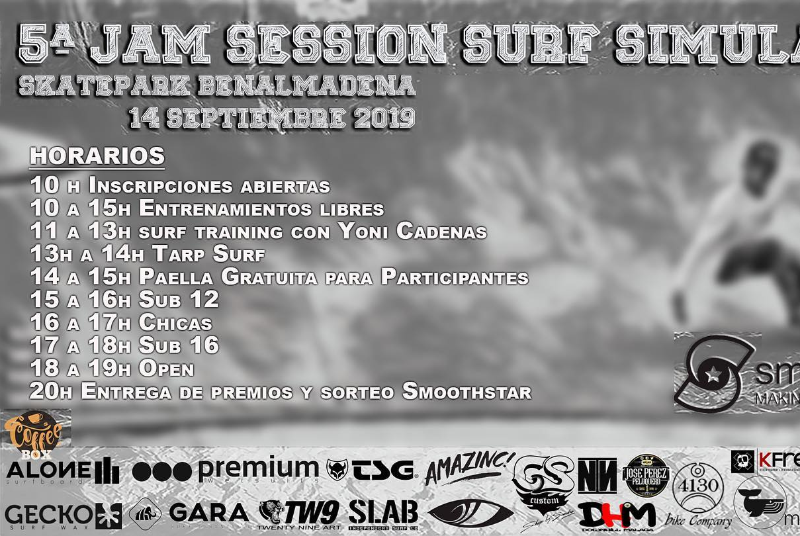 5ª JAM SESSION SURF SIMULATOR