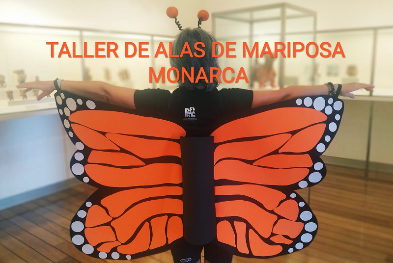 TALLER DE ALAS DE MARIPOSA MONARCA