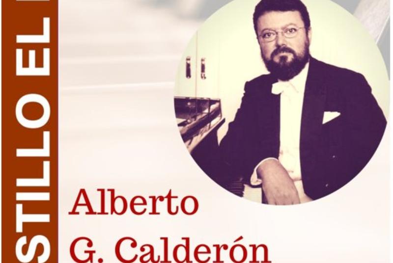CONCIERTO DE PIANO DE ALBERTO G. CALDERÓN