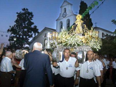 Romeria de Nuestra Señora de la Cruz, día 9 agosto