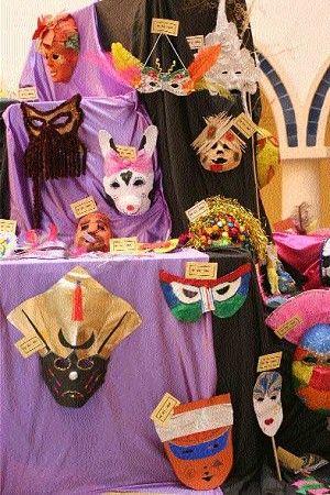 Exposición del Concurso de Máscaras