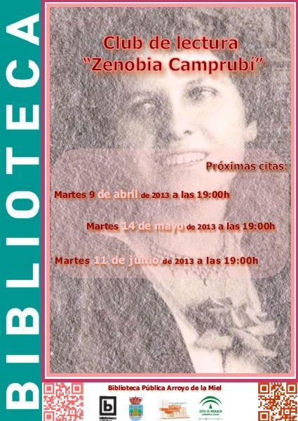"Club de Lectura ""Zenobia Camprubí"""