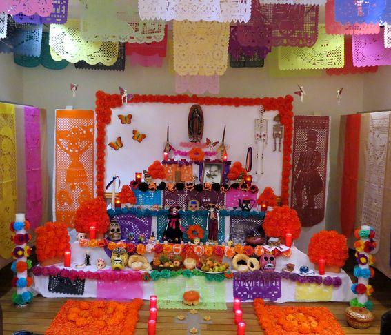 Altar de Difuntos Mexicano