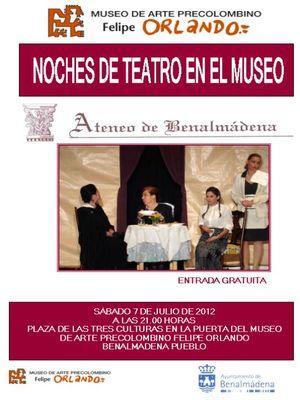 Noches de Teatro en el Museo.