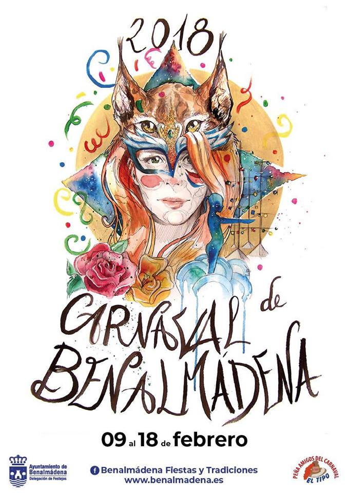 XVIII Elección Drag Queen del Año Carnaval Benalmádena 2018
