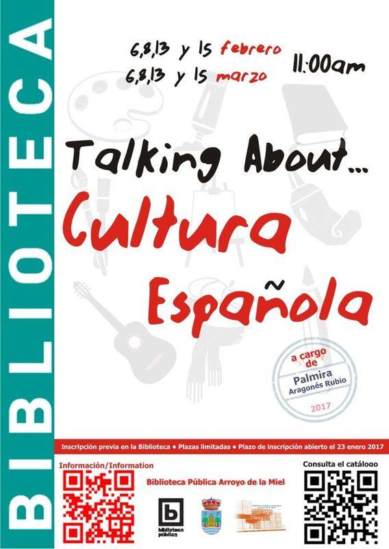 Talking About Cultura Española