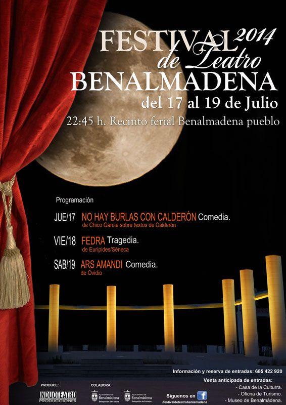 FESTIVAL DE TEATRO BENALMÁDENA: Ars Amandi. (Comedia)