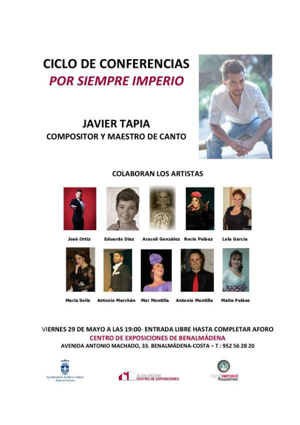Ciclo de conferencias 'Por Siempre Imperio'