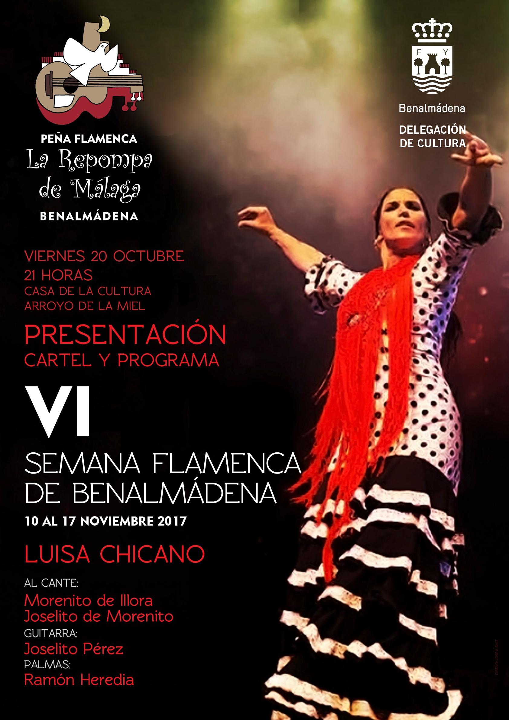 Presentación semana flamenca de Benalmádena