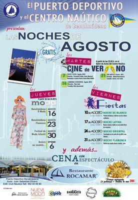 """""""Las Noches de Agosto"""" Un Nuevo Programa de Cine, Moda y Música."""