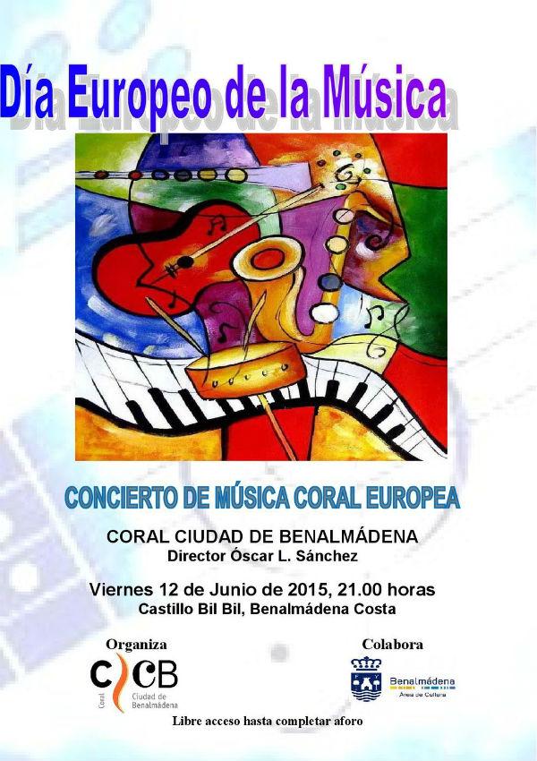 Celebración Día Europeo de la Música. Concierto de música coral