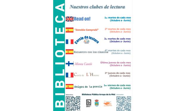CLUB DE LECTURA READ ON!, COORDINADO POR ELISE FREEDMAN