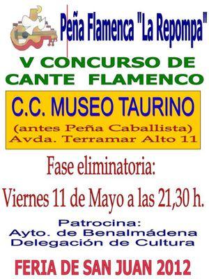 V Concurso Cante Flamenco La Repompa.