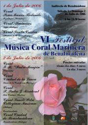 VI Festival de música Coral Marinera