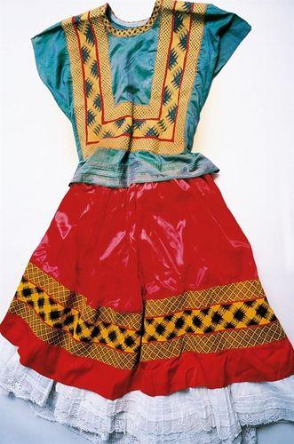 El Vestido Tradicional de la Mujer Mexicana