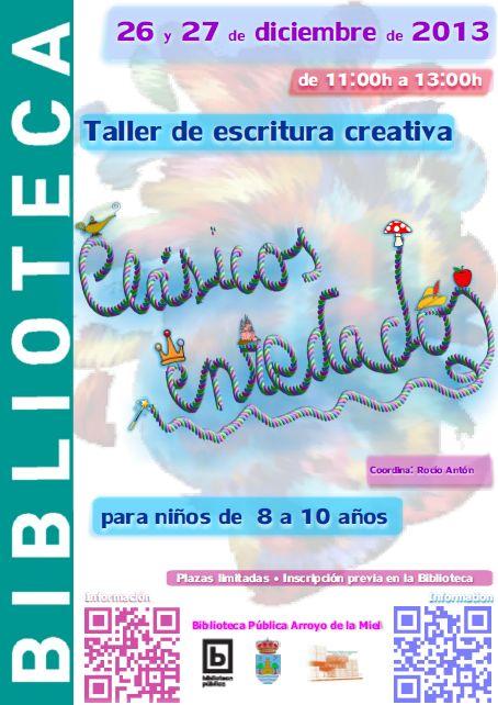Taller Clásicos enredados, coordinado por Rocío Antón