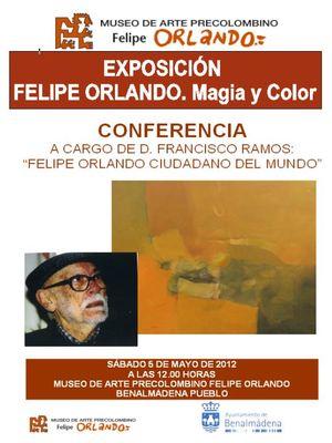 """Exposición Permanente """"Felipe Orlando. Magia y Color"""""""