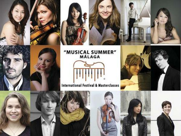 Concierto Intérpretes Internacionales del Festival 'Musical Summer' Málaga
