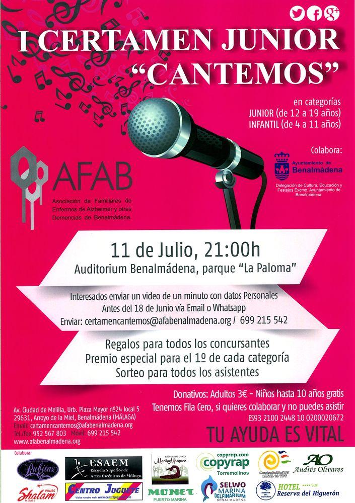 I Certamen Junior 'Cantemos'