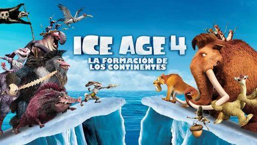 """Cine de Verano en  Benalmádena """"Ice Age 4: La Formación de los Continentes"""""""