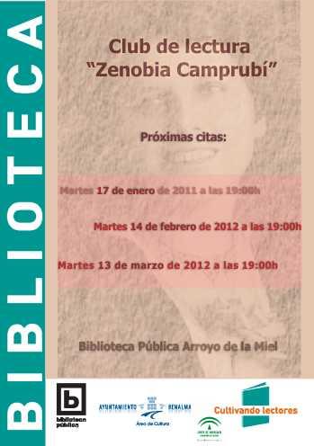 Club de lectura 'Zenobia Camprubí', Coordinado por Olga López de Lerma