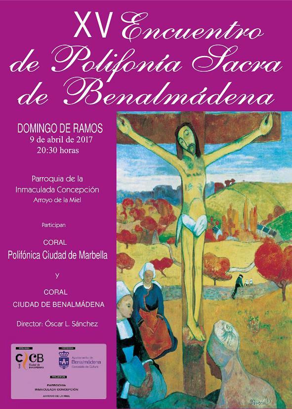XV Encuento de Polifonía Sacra de Benalmádena
