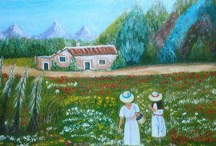 Exposición de pinturas del Grupo Malaka