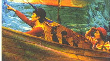Teatro : ¡ Por ahí sopla ! es Moby Dick