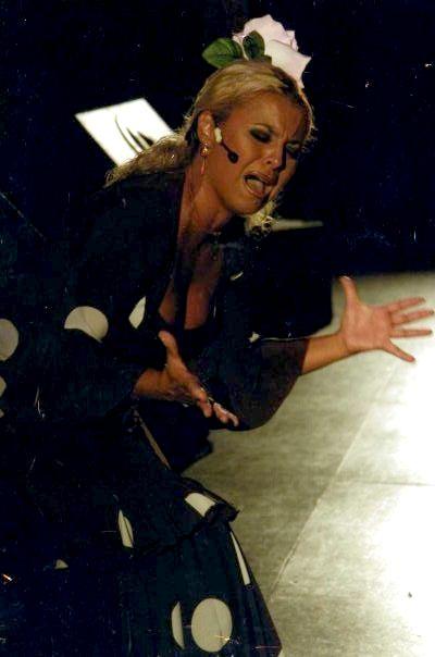 NOCHES DE FLAMENCO EN EL MUSEO: Cuadro Flamenco de Nuria Martín.