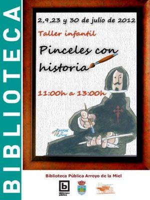 """""""Pinceles con Historia""""."""