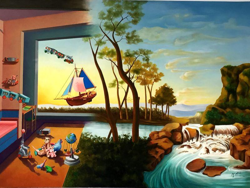 Manel: Muestra de Pinturas