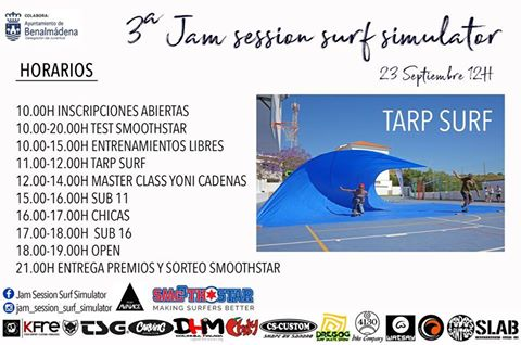 3ª Jam session surf simulator