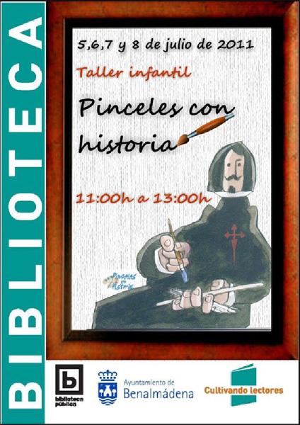Pinceles con Historia coordinado por Marta Aguado.
