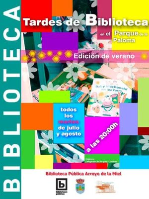 Tardes de Biblioteca en el Parque de la Paloma «Edición de Verano».