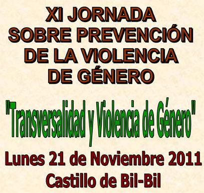 XI Jornada sobre Prevención de la Violencia Género