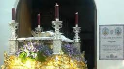 Viernes Santo: Procesión del Stmo. Cristo Yacente y María Stma. de las Lágrimas