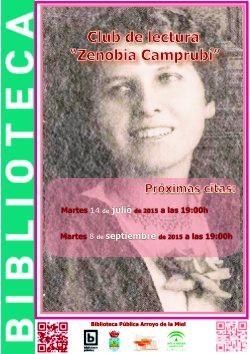 Club de lectura 'Zenobia Camprubí'