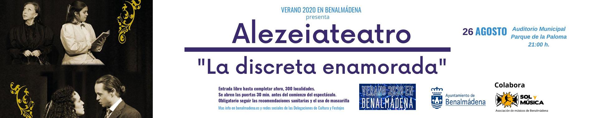 Alezeiateatro - La discreta enamorada