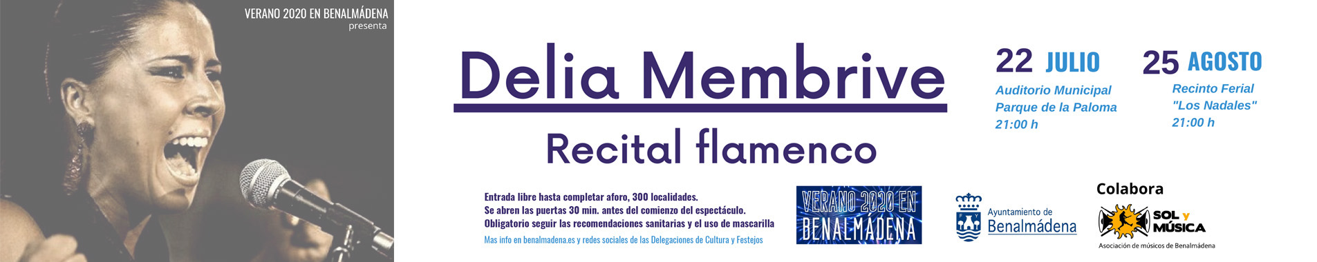Delia Membrive - Recital Flamenco