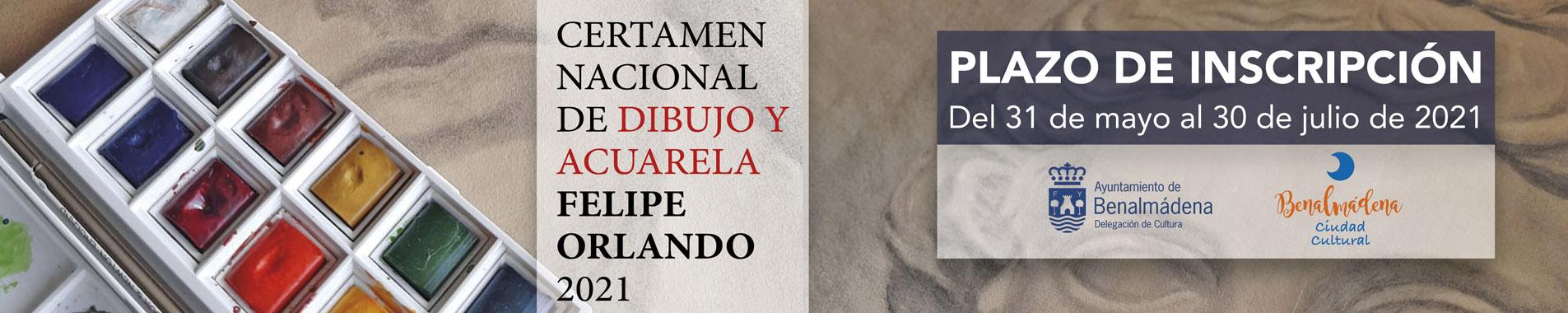 Certamen Nacional de Dibujo y Acuarela Felipe Orlando 2021